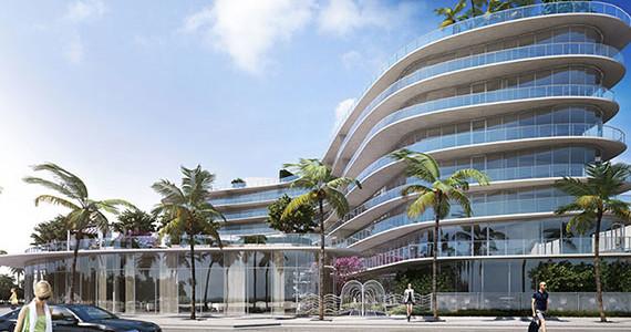 One Ocean Miami Beach Luxury Condo Building Rendering
